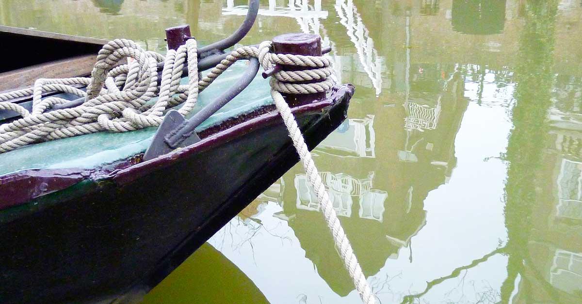 船のアンカー