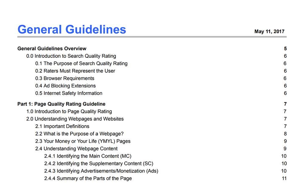 検索品質評価ガイドライン