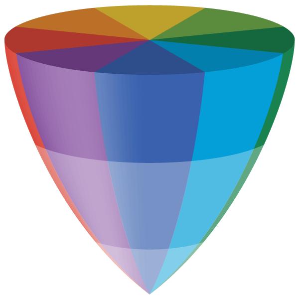 色彩立体モデル