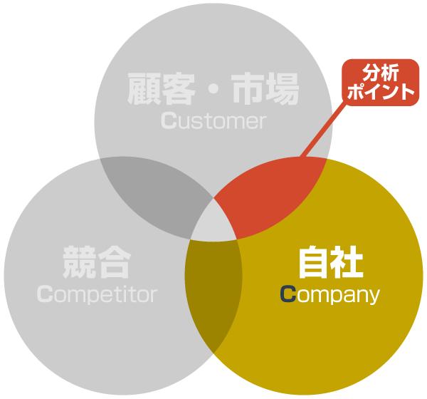 3C分析:自社の分析