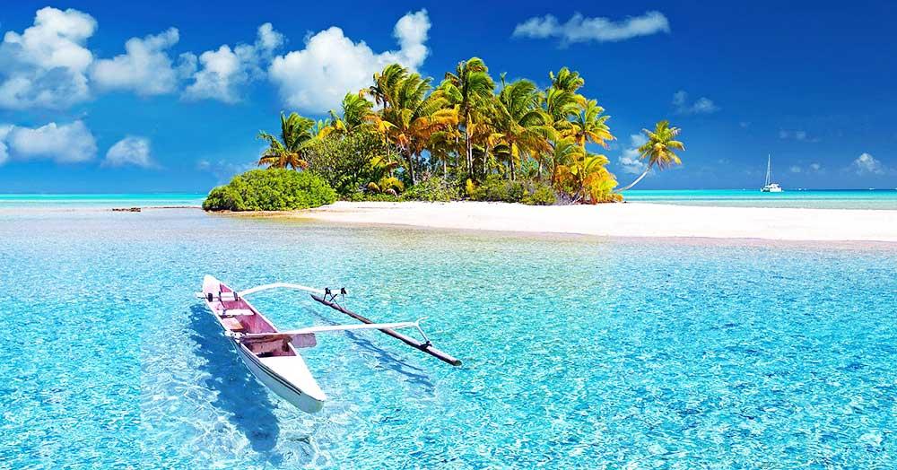 成功のイメージに出てくる南の島