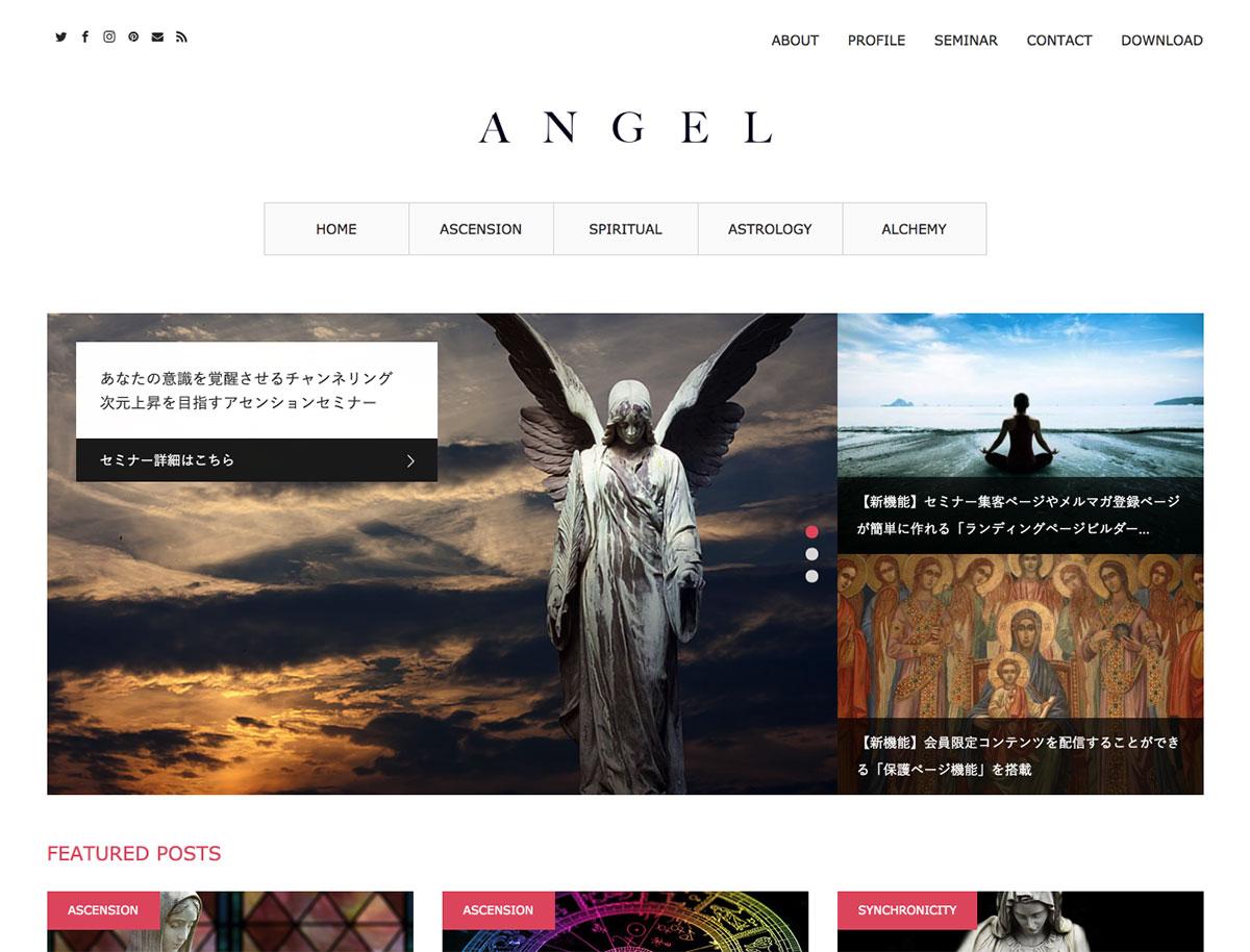 ANGEL デモ画面